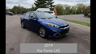 2019 Kia Forte LXS|Walk Around Video|In Depth Review|Test Drive