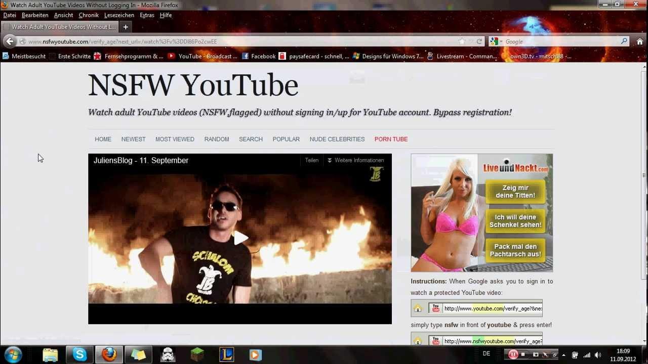 Youtube Altersbeschränkung Umgehen