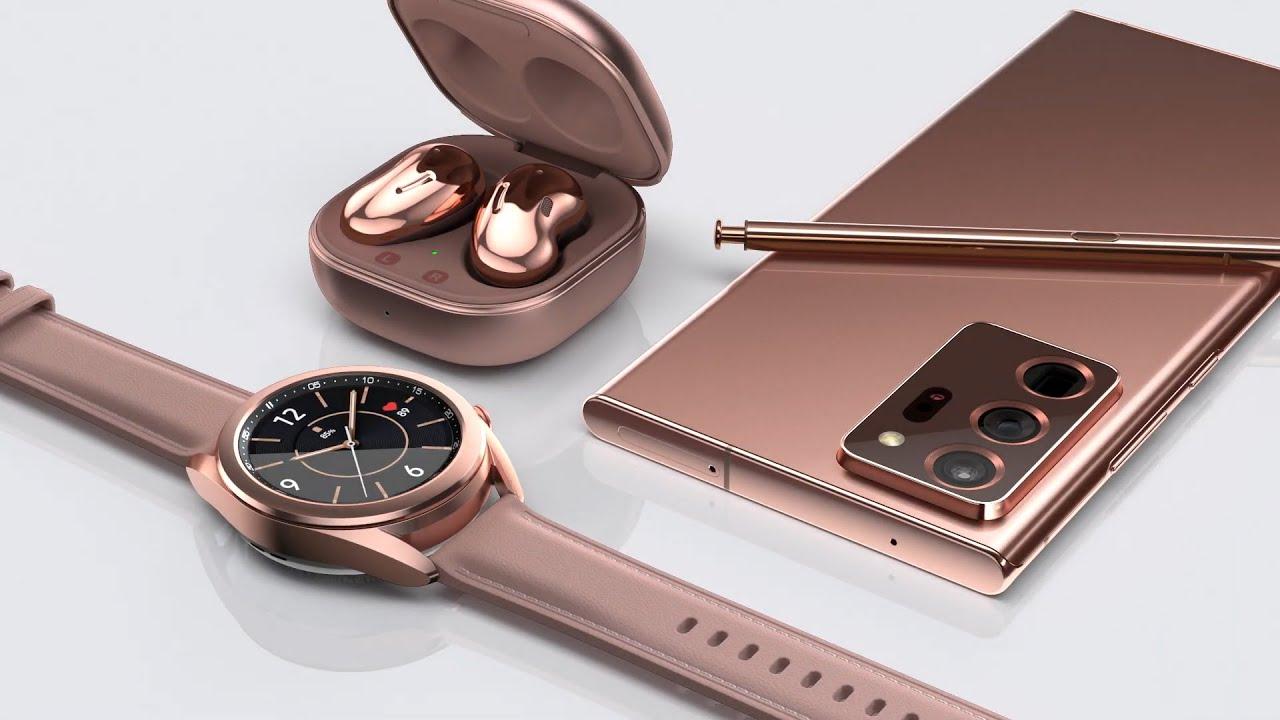 Galaxy Note 20 Chính Thức | Galaxy Z Fold 2, Buds Live, Watch 3 & Tab S7