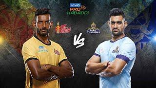 Pro Kabaddi 2019 Highlights | Telugu Titans vs Tamil Thalaivas | Hindi M4