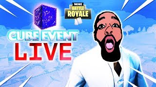 THE CUBE EVENT LIVE | WHAT REALLY HAPPENED REVEALED? | DIMEZ ENT REACTS TO (Fortnite Battle Royale)