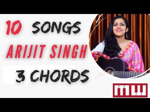 Play 9 songs of Arijit singh in 3 chords