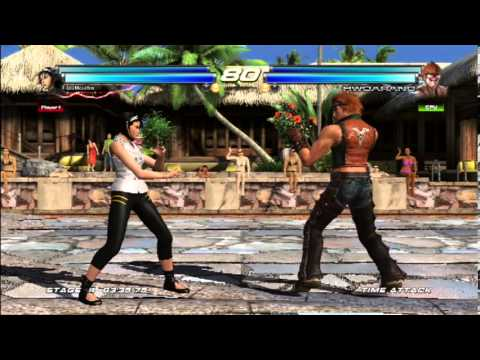 Tekken Tag Tournament 2:Jun Kazama/Unknown Gameplay - YouTube