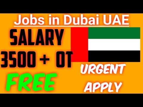 Free Jobs in Dubai UAE - Latest Friday Special Jobs in UAE December 2018