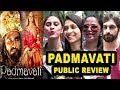 Padmavat Movie Public Review | Padmavati Review | Ranveer Singh,Deepika Padukone,Shahid Kapoor