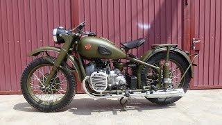 Мотоцикл М-72 Урал реставрированный (Motorcycle M-72 Ural restored)