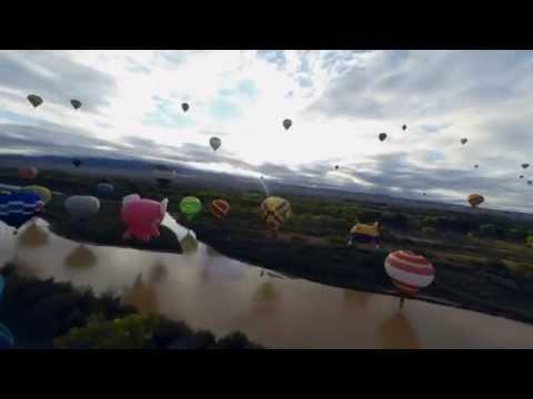 Albuquerque Balloon Fiesta 2014 Mass Ascension Saturday