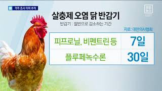 2주 간격 추가 검사…계란·닭도 이력 추적