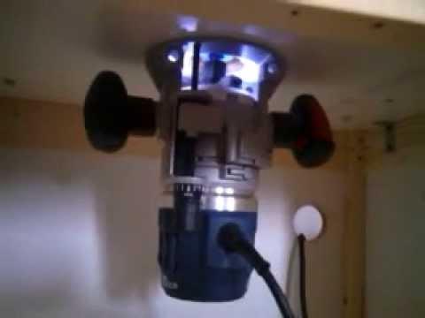 Bosch professional gmf 1600 ce defonceuse sous table youtube - Defonceuse sous table scheppach hf50 ...