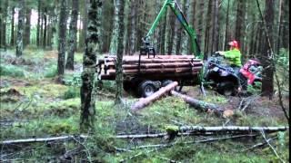 21-SV34BD Gallringsvagn med kran 3,4 m, inkl. drivning