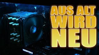 Aus ALT wird NEU - PC Umbau in Be Quiet Dark Base Pro 900 Rev 2 Case - Deutsch German thumbnail