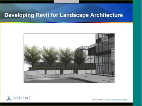 Revit for Landscape Architecture  Webcast