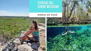 TULUM, COBÁ, CENOTES Y PLAYA DEL CARMEN EN 1 DÍA I Especial del Caribe Mexicano