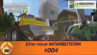 LS17 - Hof Bergmann #004 | Eine neue MITARBEITERIN | Let's Play [HD]