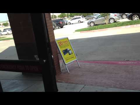 Stanley Automatic Sliding Doors At Officemax In Lewisville