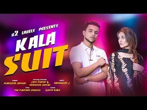 Kala Suit (Official Video) Mansoor Ahmed | Mehmood J| Jass Manak | B2 Lables | New Punjabi Song 2019