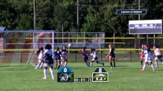 LHS Girls Soccer vs Andover 2016
