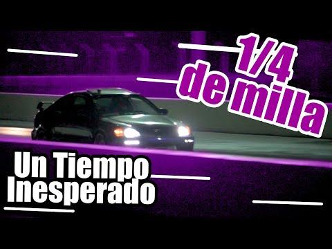 Corremos el Civic 1/4 de milla | que tiempo hicimos ??? | Marco MAAP Carshop