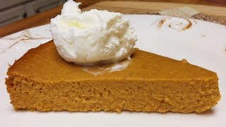 Easy Healthy Crustless Pumpkin Pie
