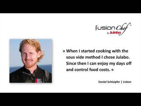 fusionchef by Julabo - star chef statements