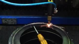 Лазерная сварка деталей из нержавеющей стали(Приварка фланца к корпусу детали. Компания LaserCWM предлагает весь спектр промышленных технологий лазерной..., 2016-11-14T13:38:22.000Z)