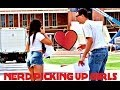 NERD PICKING UP GIRLS!!