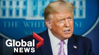 Trump touts coronavirus response, reacts to Kamala Harris as Biden running-mate | FULL