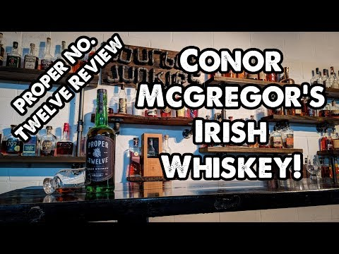 cdb273b9f Conor McGregor's Proper No. Twelve Irish Whiskey Review! Breaking the Seal  Ep #24! - YouTube