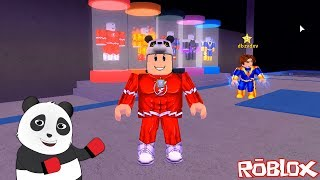 Süper Kahraman Olup Şehri Korumaya Devam Ediyoruz!! Panda ile Roblox Mad City