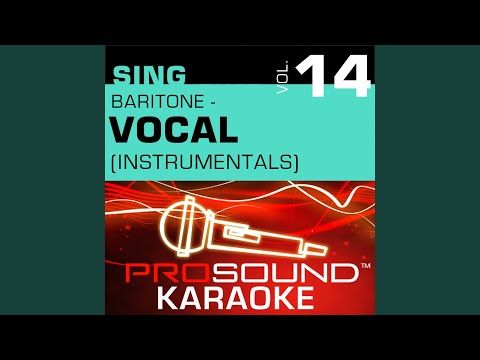 Magic Moments (Karaoke With Background Vocals) (In the Style of Perry Como)