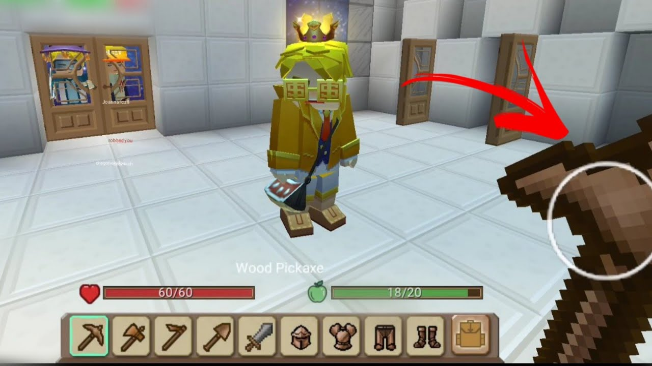 🔴GIVING RICH PLAYER POOR ITEMS -NEW UPDATE- IN SKYBLOCK 😂-BLOCKMAN GO SKYBLOCK