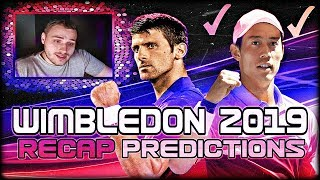 Wimbledon 2019 - 4th Round Results and Quarterfinal Predictions