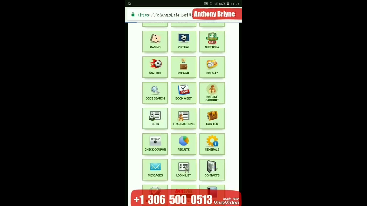 Anthony Briyne: Video Of How I Made 4 Million Naira In 4 Weeks On Bet9ja