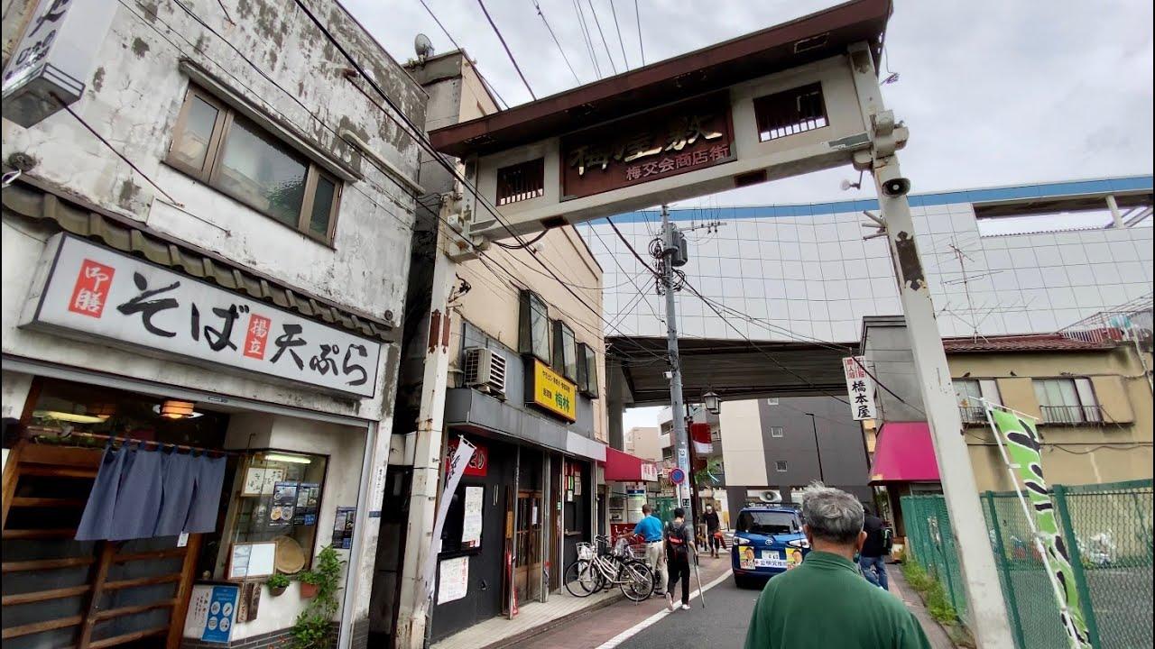【4K】Walk on Umeyashiki(梅屋敷) at Tokyo【2020】