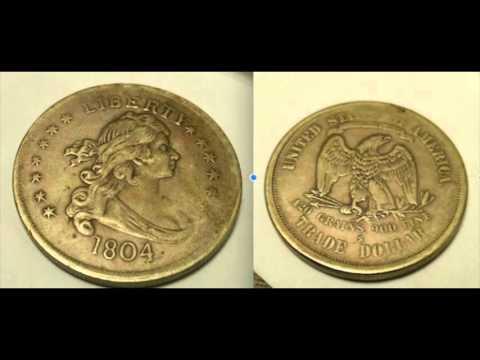 1804 Liberty Coin   420 Grains 900 Fine   Trade Dollar S MARK