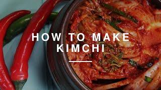 How to make Kimchi | Gizzi Erskine | Wild Dish