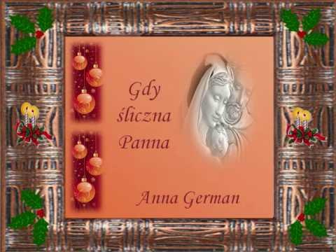 GDY ŚLICZNA PANNA  ANNA GERMAN.wmv