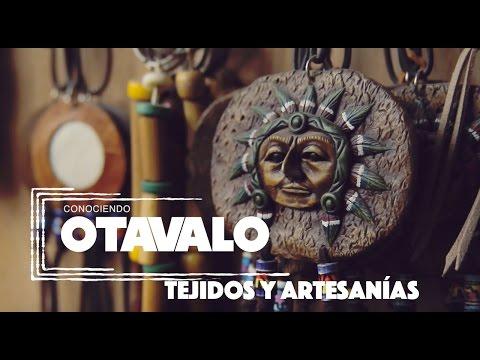 Conociendo Otavalo Tejidos Artesanías Youtube