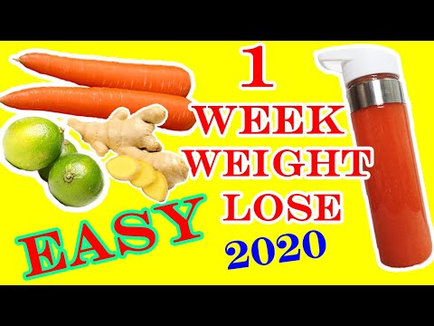 how-to-lose-weight-in-one-week-(2020)
