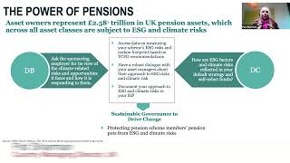The Power of Pensions and the Climate Gap. CACEIS 2021