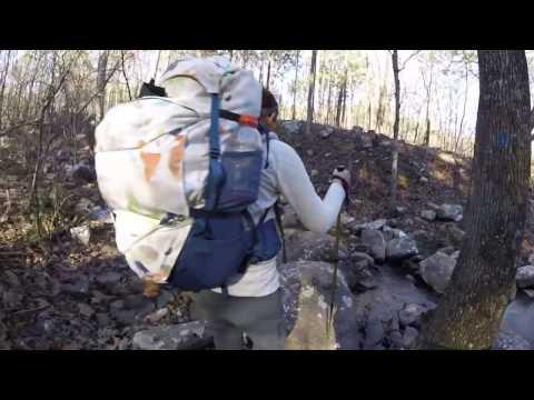 Ouachita Trail-Section 2 Winding Stair CG- AR/OK Border