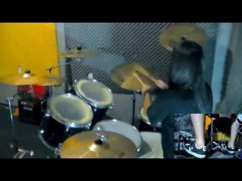 Job For A Cowboy -  Entombment Of A Machine Drum Cover drum play-through - Jordan