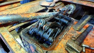 Как разобрать тормозные и фрикционные механизмы ДТ 75 !!??
