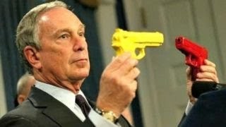 Tucker: 'Hypocrite' Bloomberg surrounds himself with guns