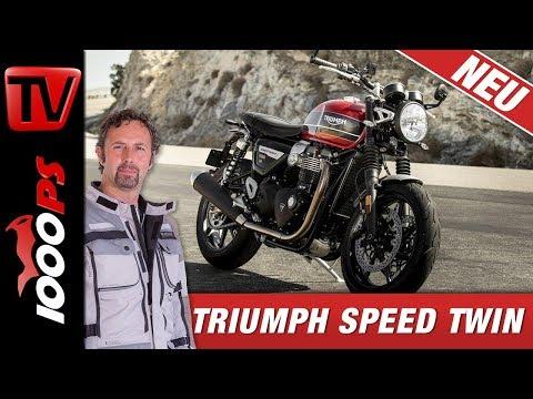 Triumph Speed Twin 2019 - Sound, Infos und technische Daten