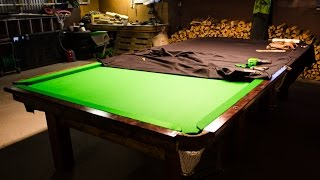Snooker Table - Full size SNOOKER TABLE built at home!