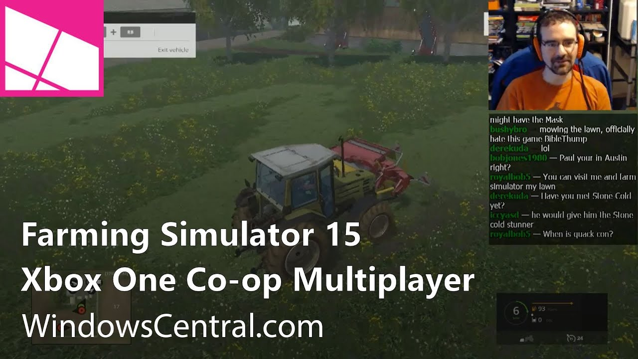 Farming Simulator 15: Xbox One Co-op Multiplayer