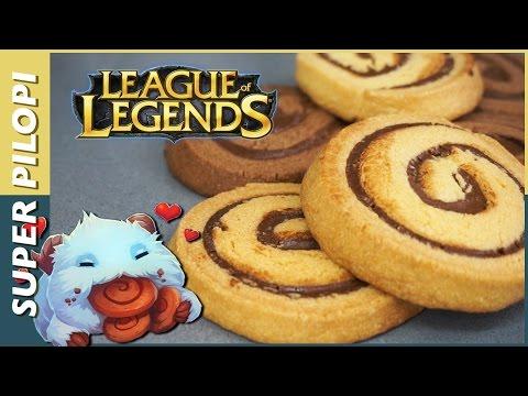 Poro Galletas de League Of Legends - Receta