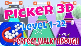 PICKER 3D🧲#1 ON APPSTORE🥳LEVEL 1-22🤩Game Play Walkthrough iOS,Android