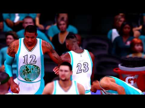NBA 2k16 - Custom MyTeam Game versus Zanitor